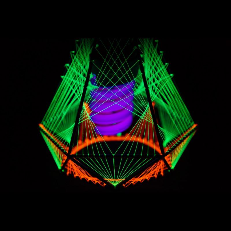 UV geometric table lamp «FlyNet-4»