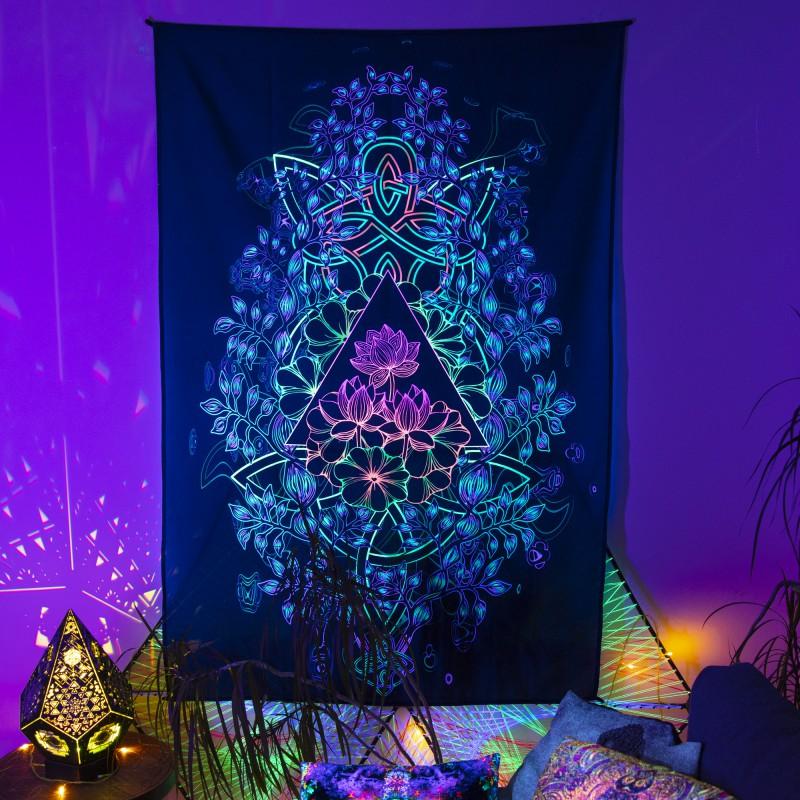 Esoteric tapestry «Acid Garden»