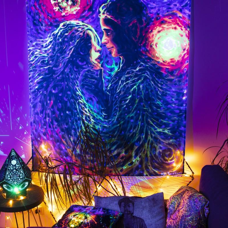 Fractal Trippy Wall Art «Unanimity»