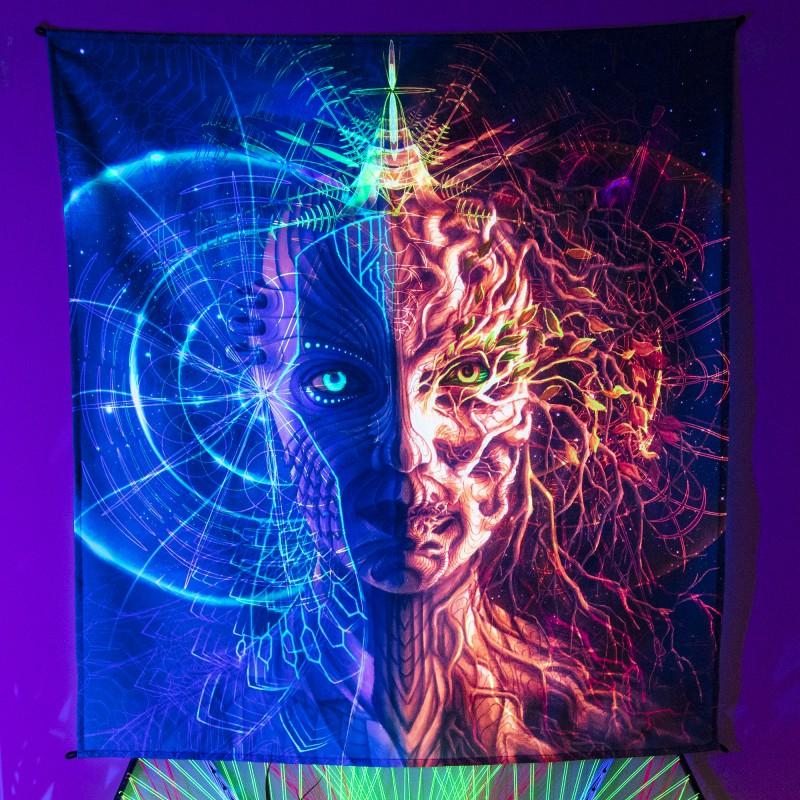 Visionary Art Blacklight Active Backdrop «Final»