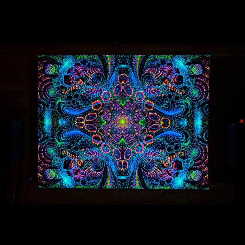 Psychedelic Art UV «Rising Energy»