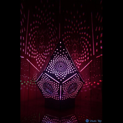 Shadow Sacred Geometry Lamp «Тоrus Crystal»