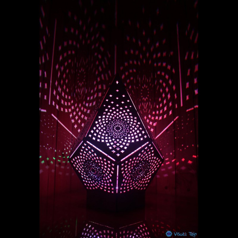 Shadow Sacred Geometry Lamp «Тоrus Crystal»