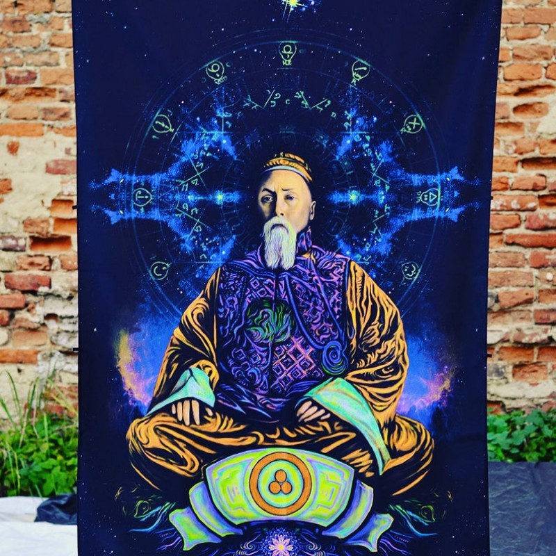 Esoteric Meditation Tapestry «Nicholas Rerich»