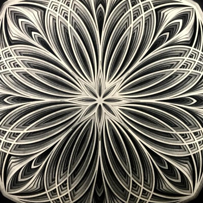"""Bohemian Wall Deco Mandala """"Mira"""", 6 layers"""