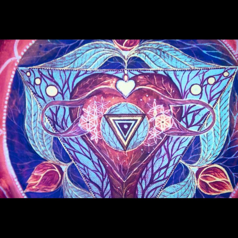 Meditation Wall Art «Kali Svadhisthana Yantra»