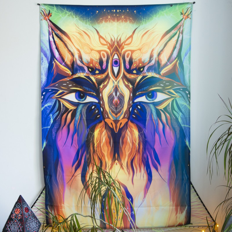 Glowing painting «Home Guardian»