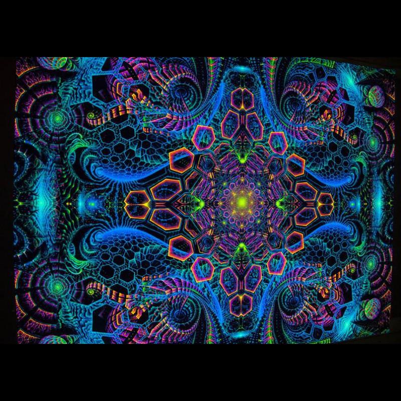 Psychedelic Art UV «Rising Energy»