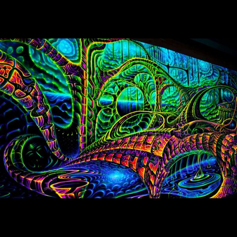 Psychedelic Wall Hanging «Dreams»