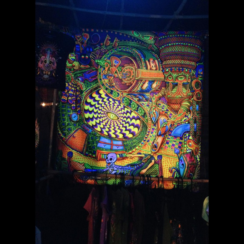 Esoteric DMT painting «Salvia Trip»