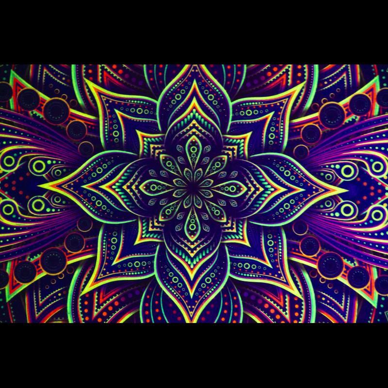 Gypsy Bedroom Deco UV Carpet «Abyss»