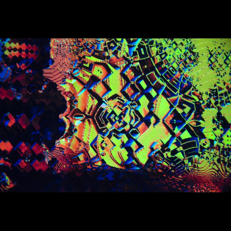 Psychedelic canvas «Fragmented Existence»