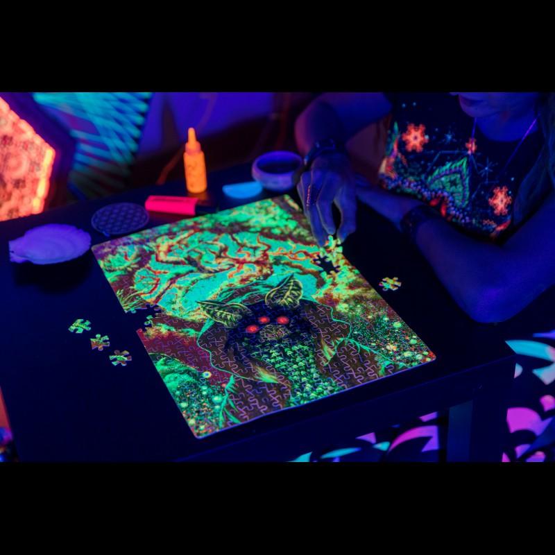 Magic Trippy Puzzle «Mushroom elf»