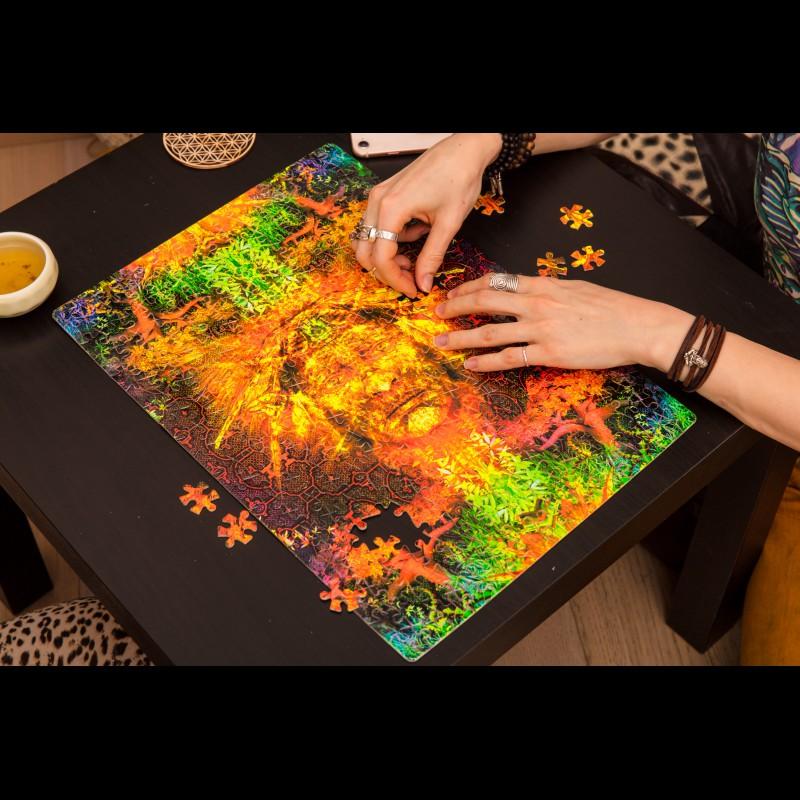Shamanic Psychedelic puzzle «Shipibo Mystery»