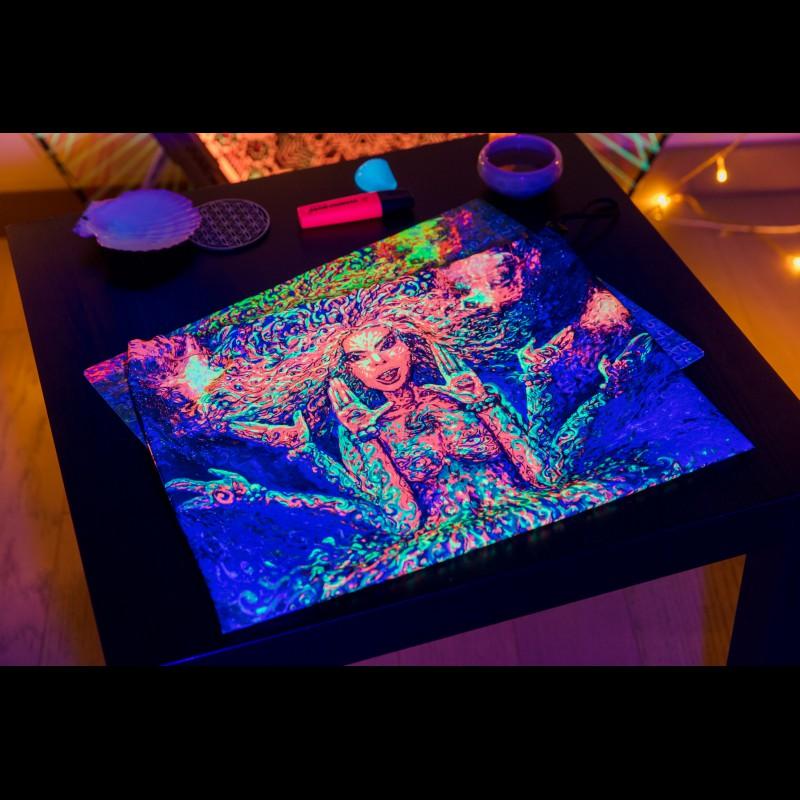 Psychedelic Meditation Puzzle «Padmamukhi»