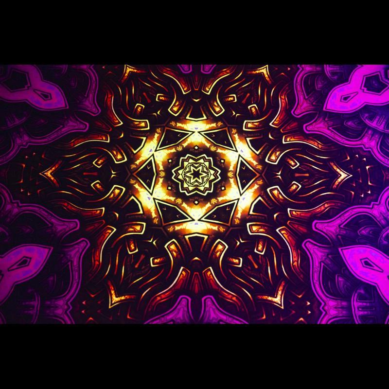 Decorative Mandala Rug «Sahasrara mandala»
