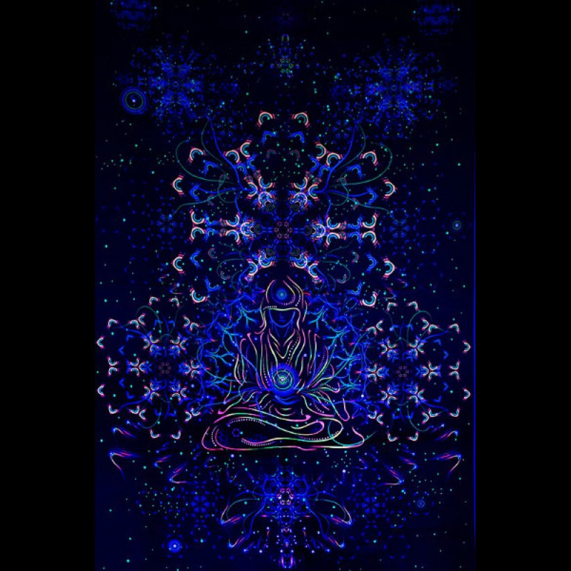 "Trippy spiritual tapestry ""Adept"""
