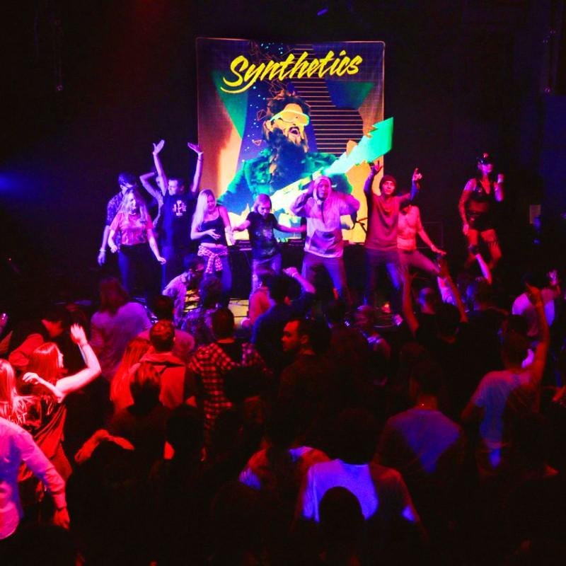 Cyberpunk retrowave synthpop tapestry Cyber Killer.