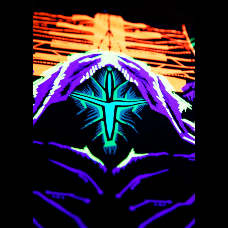 Retrowave synthwave UV tapestry Neon Masters